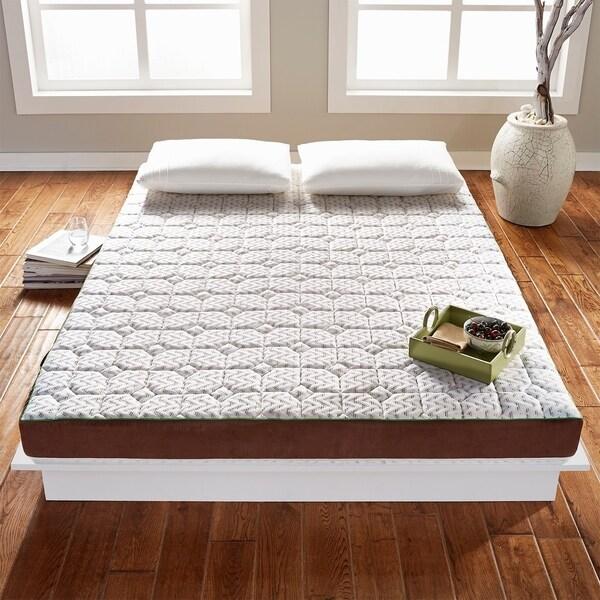Shop Tatame Bed 5 Inch Luxury Memory Foam Mattress Topper Or Low
