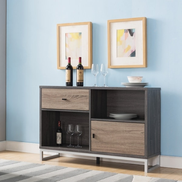 Furniture of America Zini Modern 45-inch Storage Dining Server