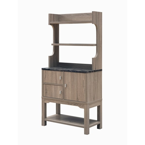 Furniture of America Olli Transitional 3-shelf Storage Cabinet