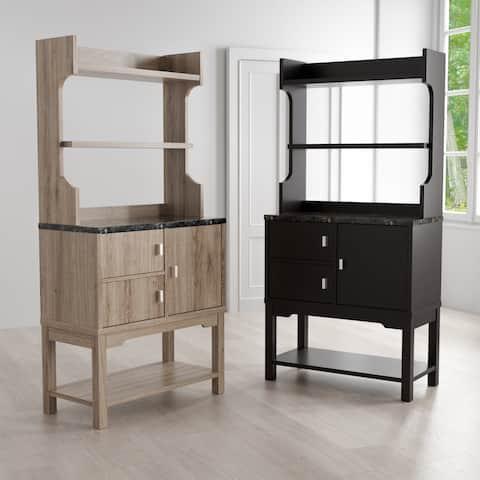 Ellios 3-shelf Freestanding Storage Cabinet by FOA