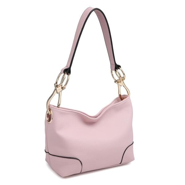 Shop Dasein Classic Corner Patched Hobo Bag - On Sale - Free ... d8fa2e2df9cb0