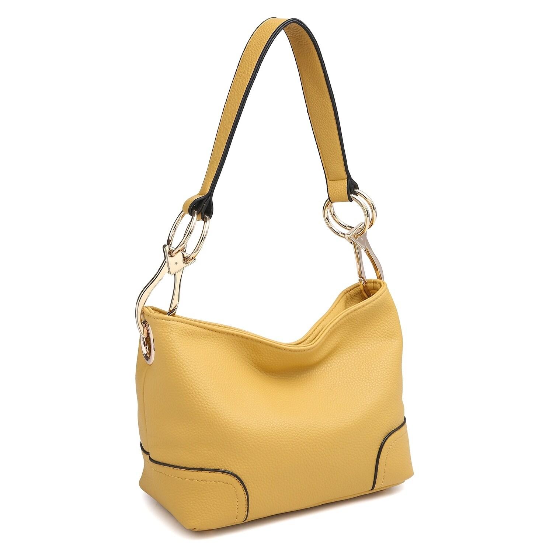 ce9148fce5 Dasein Classic Corner Patched Hobo Bag