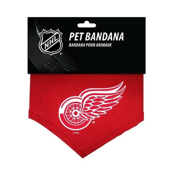 buy online 48163 5c6ed Hunter NHL Detroit Red Wings Sports Team Logo Cotton Dog Bandana - Large