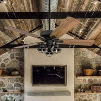 Prominence Home Ennora Aged Bronze LED Ceiling Fan