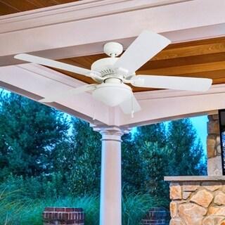 Honeywell Belmar 52-inch White Indoor/Outdoor LED Ceiling Fan