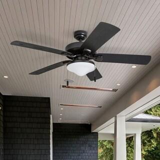 """Honeywell Belmar 52"""" Bronze Indoor/Outdoor LED Ceiling Fan"""