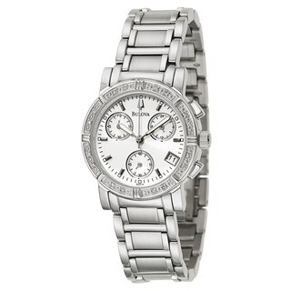 Bulova Accutron Women's 96R19 Diamond Chronograph Watch