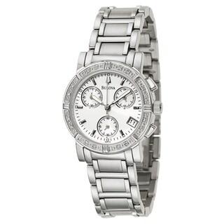 Bulova Accutron Women's 96R19 Diamond Chronograph Watch
