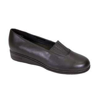 24 HOUR COMFORT Katy Women Extra Wide Width Trendy Slip on Shoes (More options available)