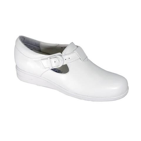 24 HOUR COMFORT Morgan Women Extra Wide Width Comfort Shoe with Buckle