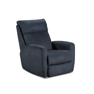 Buy Blue Polyester Blend Recliner Chairs Amp Rocking