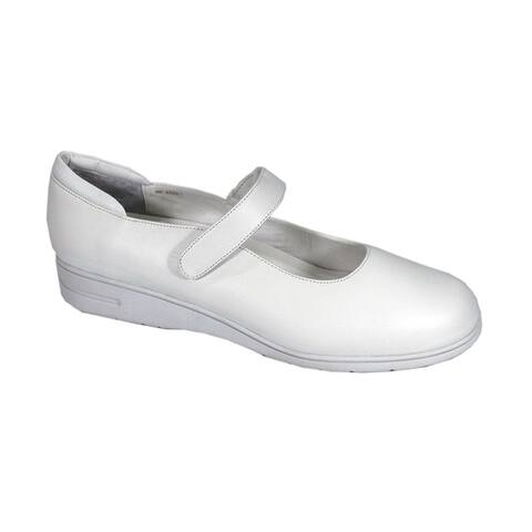 24 HOUR COMFORT Lilian Women Extra Wide Width Classic Mary Jane Shoes
