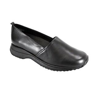 24 HOUR COMFORT April Women Wide Width Classic Durable Work Clog Shoes