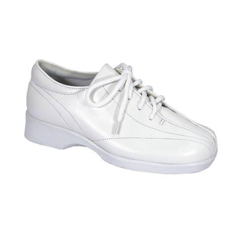 24 HOUR COMFORT Norma Women Extra Wide Width Classic Durable Sneakers