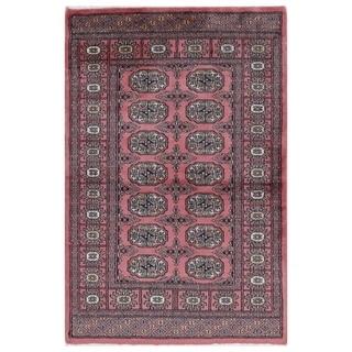 Handmade One-of-a-Kind Bokhara Wool Rug (Pakistan) - 2'6 x 3'9
