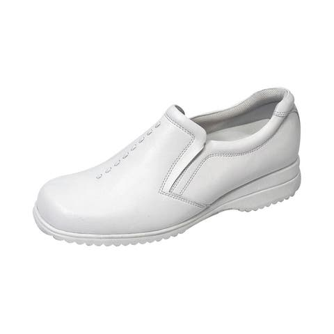 24 HOUR COMFORT Molly Women Extra Wide Width Classic Slip On Shoes