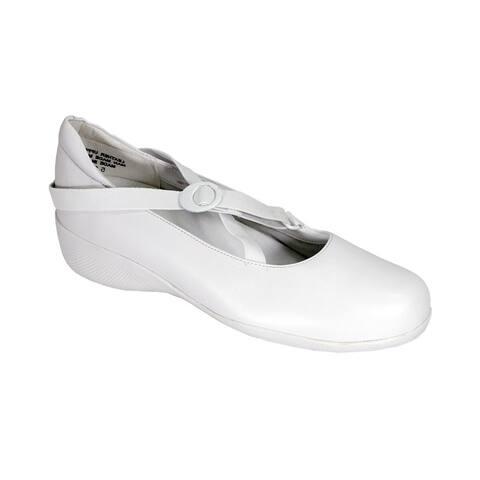 24 HOUR COMFORT Marci Women Extra Wide Width Trendy Slip On Shoes