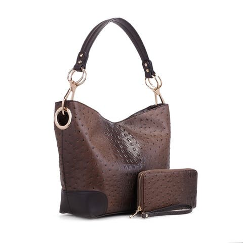 0217fe97038f MKF Collection Wandy Soft Vegan Leather Hobo & Wallet by Mia K Farrow