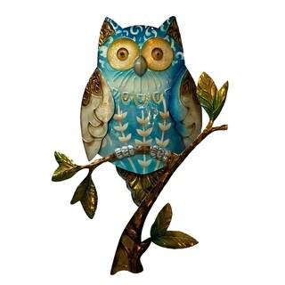 Owl Blue Wall Decor