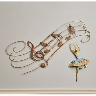 Large Musical Notes Wall Decor