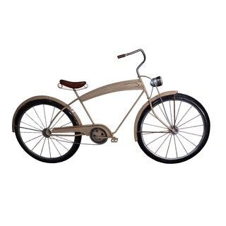 Cream Bicycle Wall Decor - 29 x 3 x 17