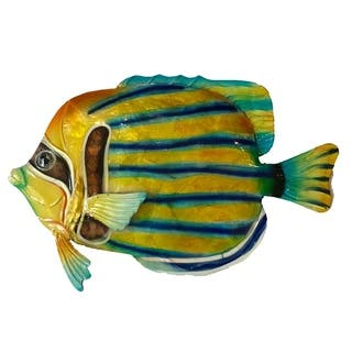 Striped Angelfish Wall Decor