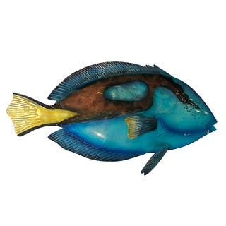 Blue Tang Fish Wall Decor