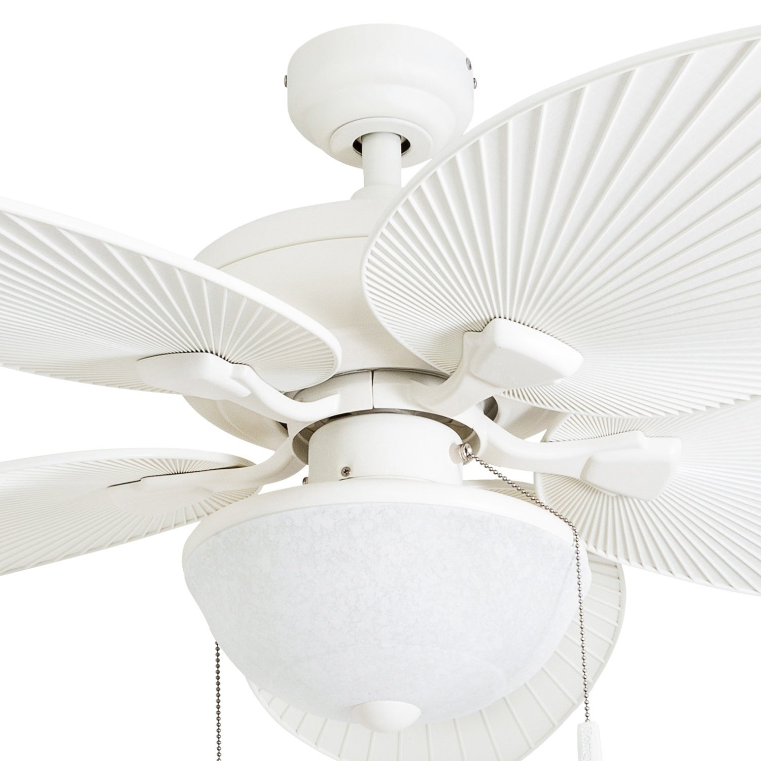 Honeywell Inland Breeze 52 White Outdoor Led Ceiling Fan With Light Plastic Wicker Blades Free Shipping Today 22344595