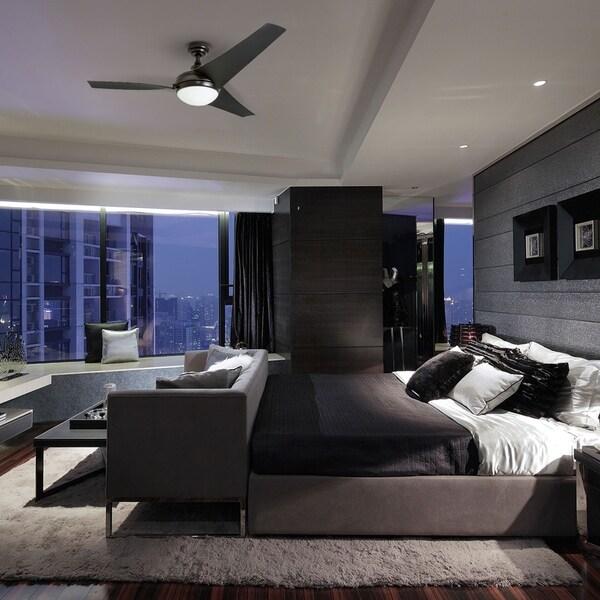 "Master Bedroom Area Rugs Led Strip Lighting Bedroom Bedroom Design Pakistan Bedroom Interior As Per Vastu: Shop Honeywell Rio 52"" Oil Rubbed Bronze Contemporary LED"