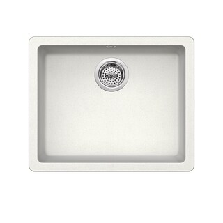 Dual Mount 21-2/3 in. x 17 in. Quartz Kitchen Sink