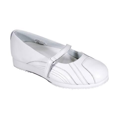 24 HOUR COMFORT Victoria Women Extra Wide Width Trendy Slip On Shoes