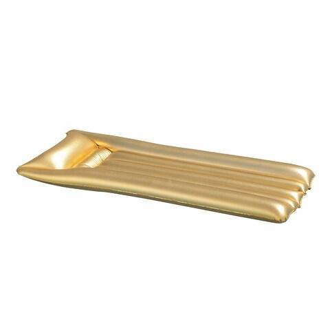 OVE Decors Gold Mattress Pool Float