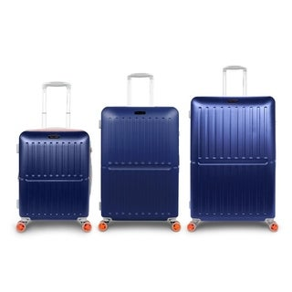 Traveler Space Duet 3-piece Expandable Hardside Spinner Luggage Set