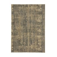 Bodie Lt. Grey Machine Woven Rectangle Area Rug - 7'10 x 10'10