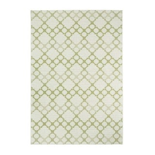 Julie Celery Machine Woven Rectangle Area Rug - 3'11 x 5'6