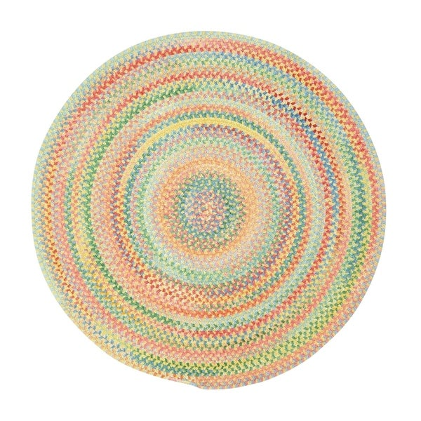 Farrow Buttercup Braided Round Area Rug - 7'6