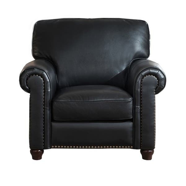 Astonishing Shop Barbara Leather Craft Chair Free Shipping Today Cjindustries Chair Design For Home Cjindustriesco