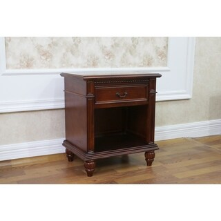 International Caravan Windsor 1-Drawer End Table