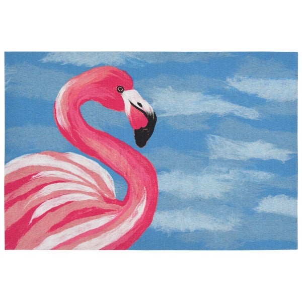 Liora Manne Wading Birds Mat (1'7 x 2'5) - 1'7 x 2'5
