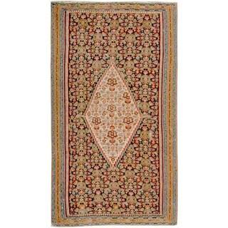 Antique Senneh  Rug, Circa 1900 - 4'6'' x 6'10''