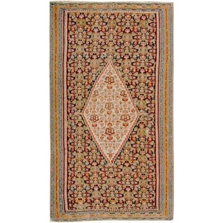 Antique Senneh  Rug, Circa 1900 - 4'6'' x 6'10''