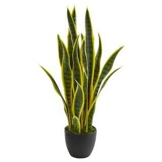 """Link to 26"""" Sansevieria Artificial Plant Similar Items in Decorative Accessories"""