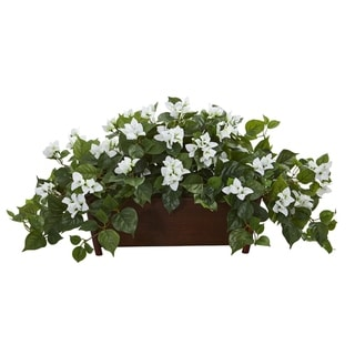 Bougainvillea Artificial Plant in Decorative Planter
