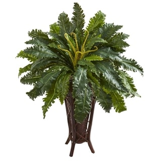 Marginatum Artificial Plant in Stand Planter