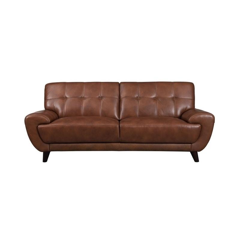 Fine Nicole Leather Craft Sofa N A Evergreenethics Interior Chair Design Evergreenethicsorg