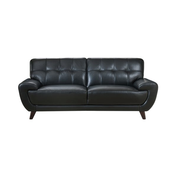 Nicole Leather Craft Sofa