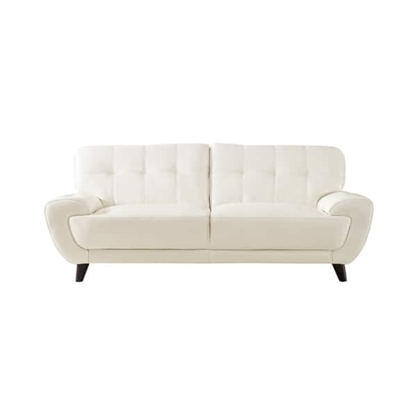 Super Shop Nicole Leather Craft Sofa N A Free Shipping Today Evergreenethics Interior Chair Design Evergreenethicsorg