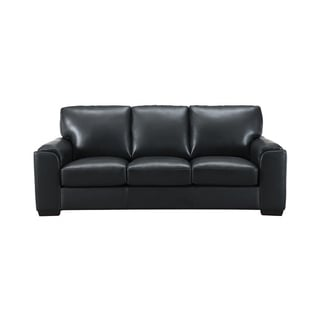Suzanne Leather Craft Sofa - n/a