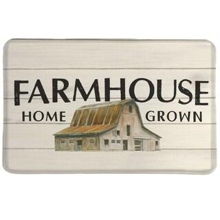 Laural Home Vintage Farmhouse Memory Foam Mat