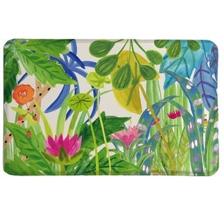 Laural Home Tropical Garden Memory Foam Mat